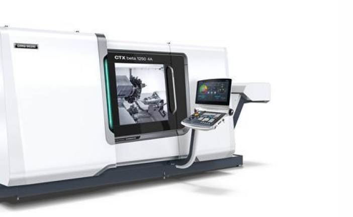 4-Achsen-Technologie und ShopTurn 3G für höchste Produktivität in der CTX-Baureihe